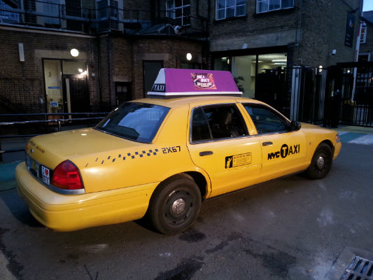 Ant and Dec's Cab