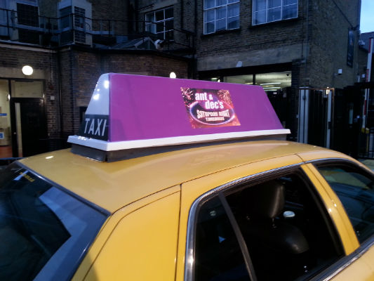 Ant & Dec's Cab